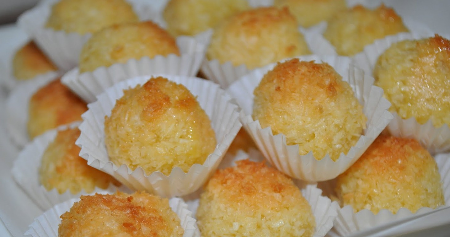 Palline dolci al cocco